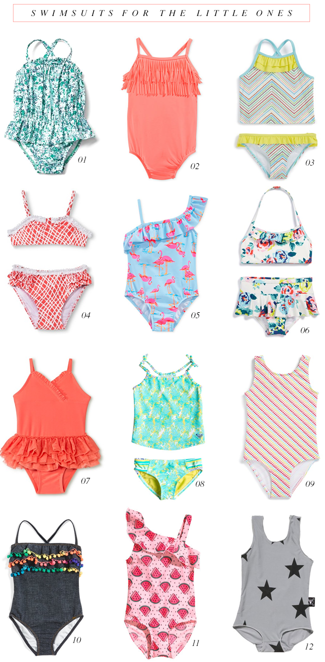 The Cutest Swimsuits for the Little Ones // Bubby and Bean