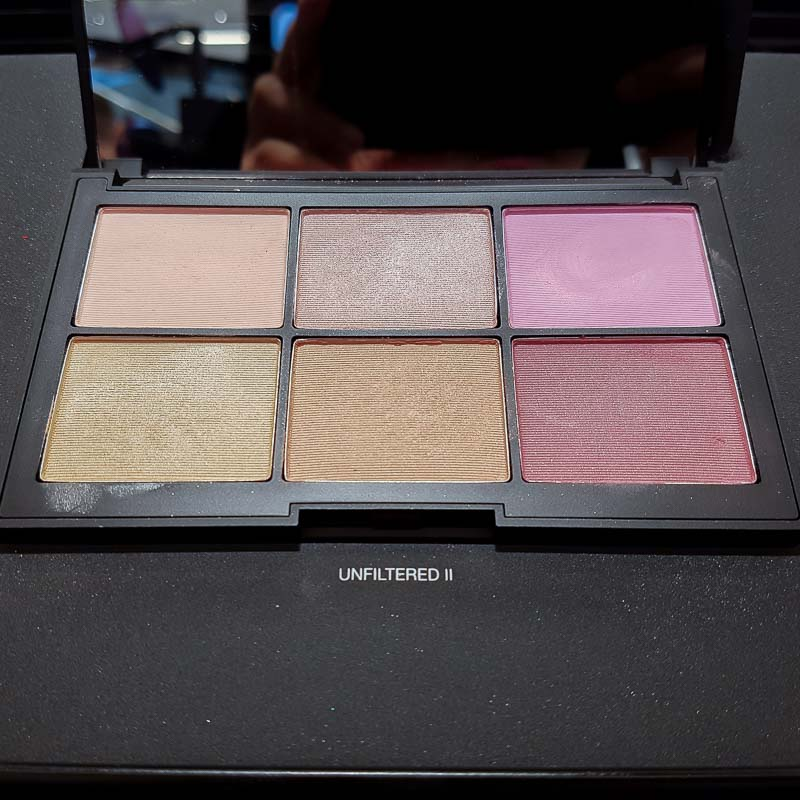 NARSissist Unfiltered II Cheek Palettes Photos Swatches