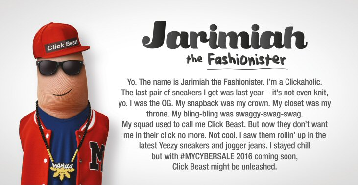 #MYCYBERSALE - Jarimiah, the Fashionister