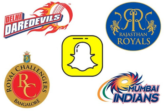 Snapchat Brings Limited-Edition Custom Stickers, Filters and Lenses for IPL 2018