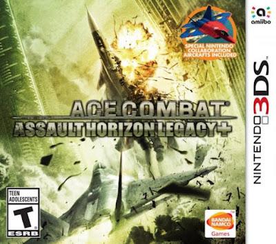 Ace Combat Assault Horizon Legacy Decrypted 3DS EUR