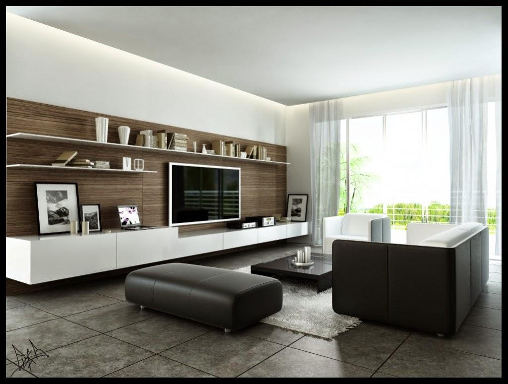 Muebles De Salon Decoracion De Interior - Mueble-salon-minimalista