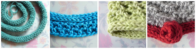 I-Cord with a Hook, Part 6: I-Cord as Edging for Crochet