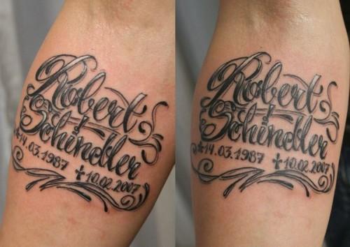 Gambar Tatto Tulisan Keren Di Lengan Wanita Dan Pria 7
