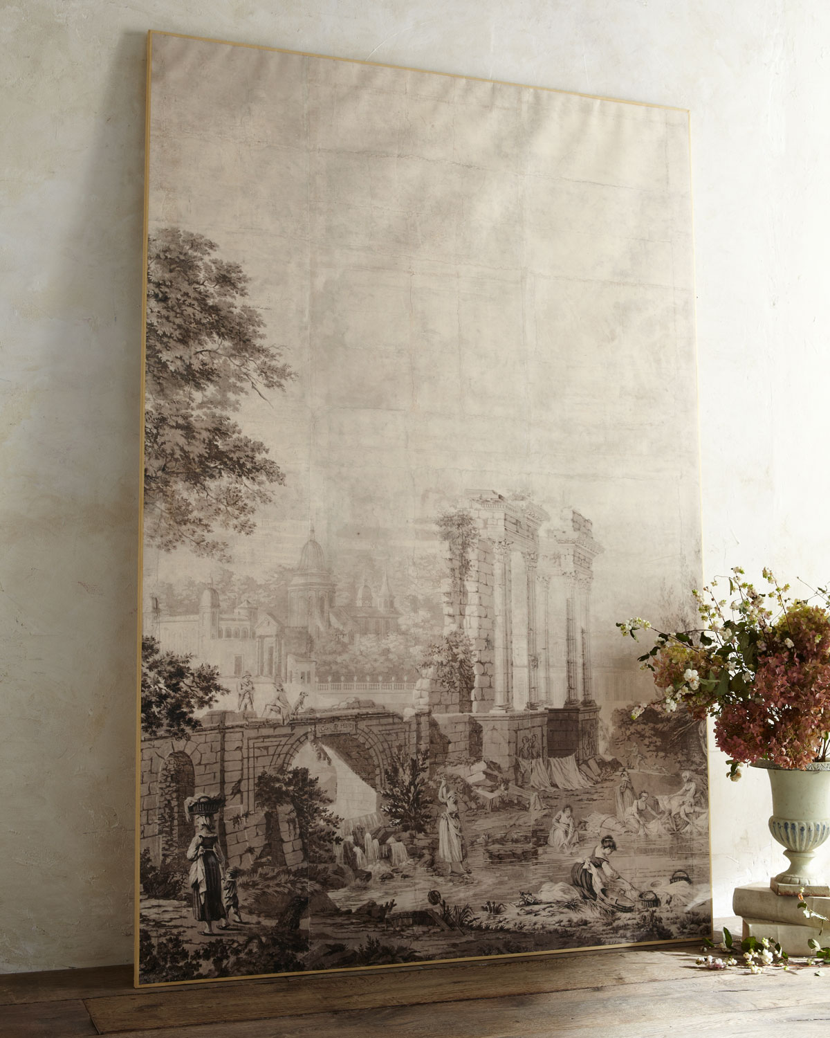 Grisaille a painting in shades of gray a flippen life - Grisaille wallpaper ...