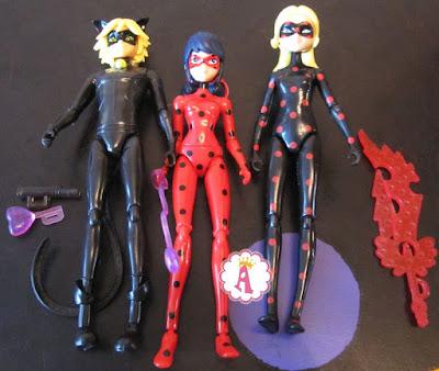 Шарнирные куклы из серии игрушек Леди Баг и Супер-Кот