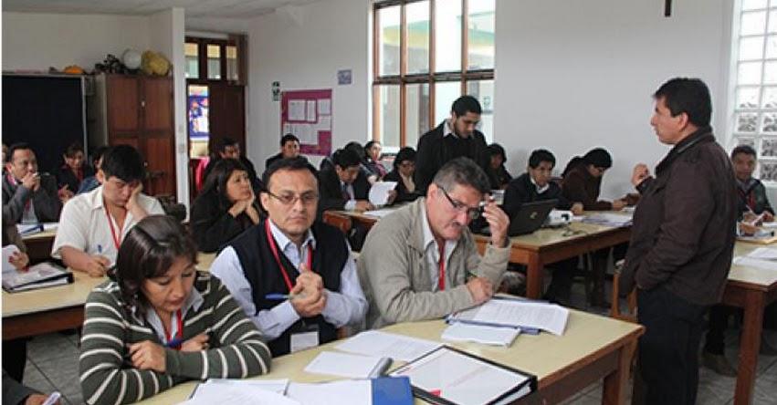 MINEDU realizará talleres con maestros para explicarles Evaluación de Desempeño Docente 2018 - www.minedu.gob.pe
