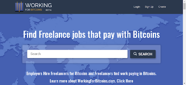 WorkingForBitcoins.com - Best Place For Employers And Freelancers