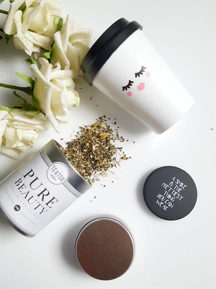 BOX STORIES by gofeminin - Just Bloom teatox pure beauty tee coffeemug to go