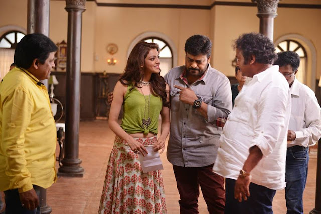 Khaidi No 150 Movie Working Stills