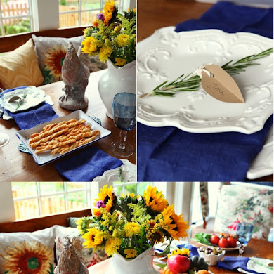 A Taste of Tuscany | An Italian Fall Dinner Party