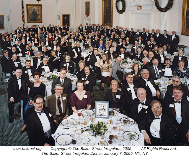 The 2005 BSI Dinner group photo