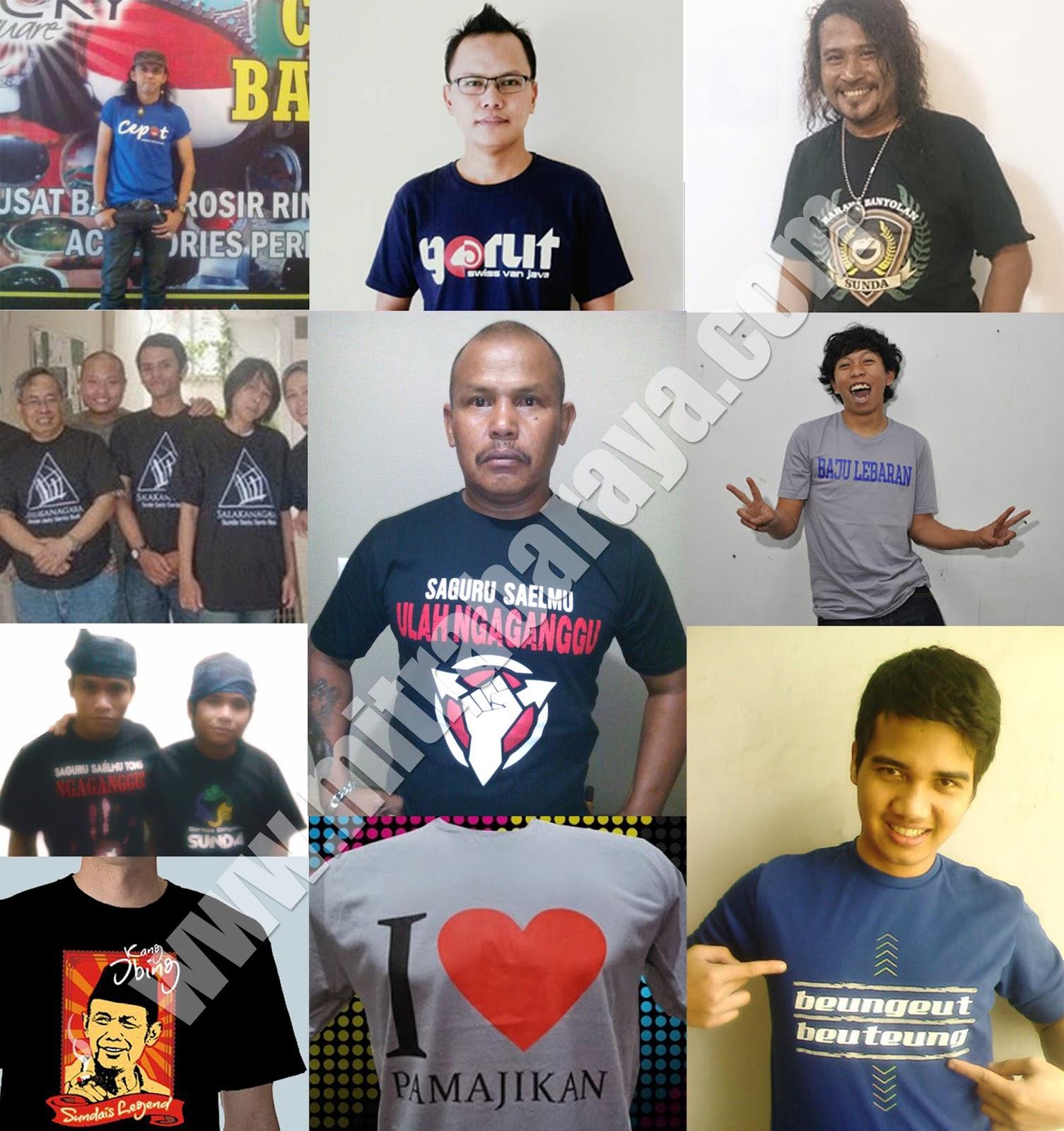 Memperkenalkan Bahasa Sunda Lewat Media Kaos Humor Sunda Baiknya
