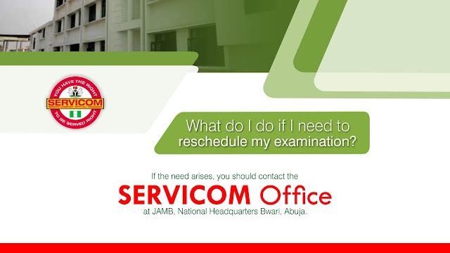 22. What do I do if I need to reschedule my JAMB examination?