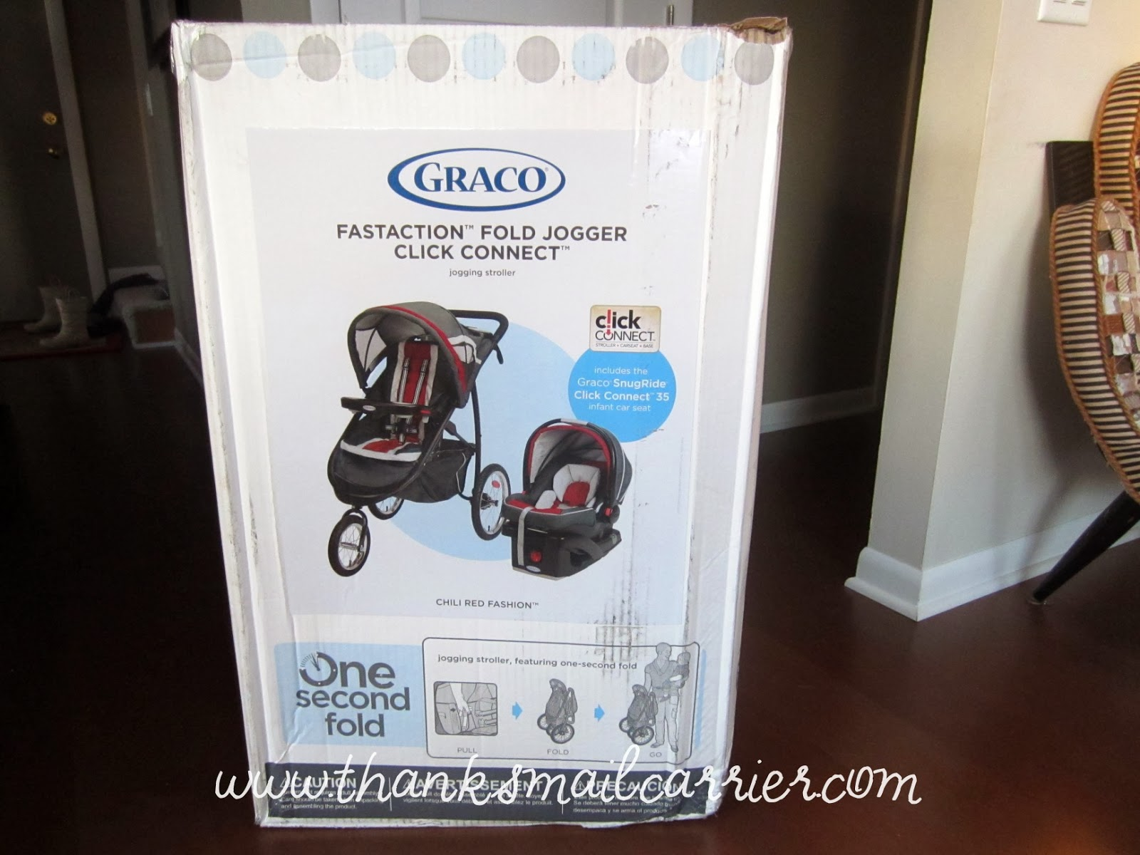 Thanks Mail Carrier Graco Fastaction Fold Click Connect