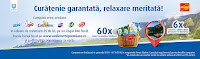 Castiga o excursie pentru doua persoane in Romania + un cos cu produse Unilever