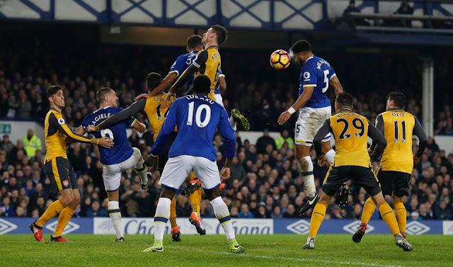 Everton Football Club 2-1 Arsenal