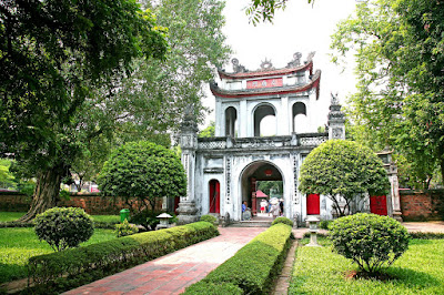 'Hanoi Temple of Literature' is one of the first universities in the world