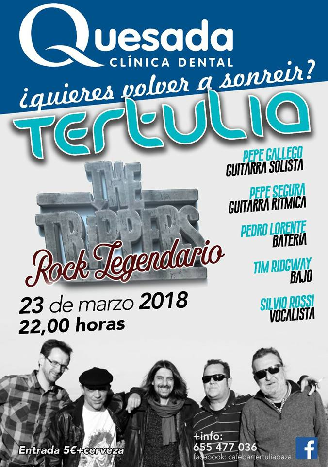 Concierto La Tertulia: The Trippers