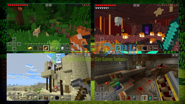 Game Minecraft Pocket Edition Terbaru Versi 0.15.1.2 Apk For Android