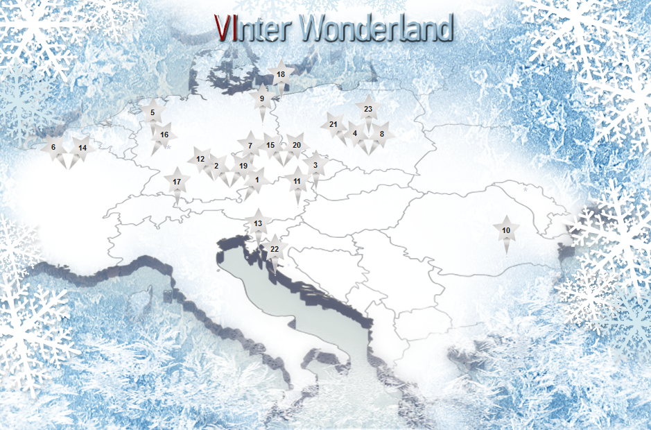 Mapka hoteli Vienna International w promocji VInter Wonderland