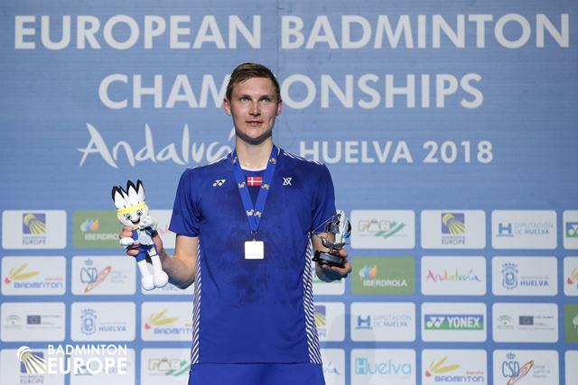 Viktor Axelsen European Badminton Championships