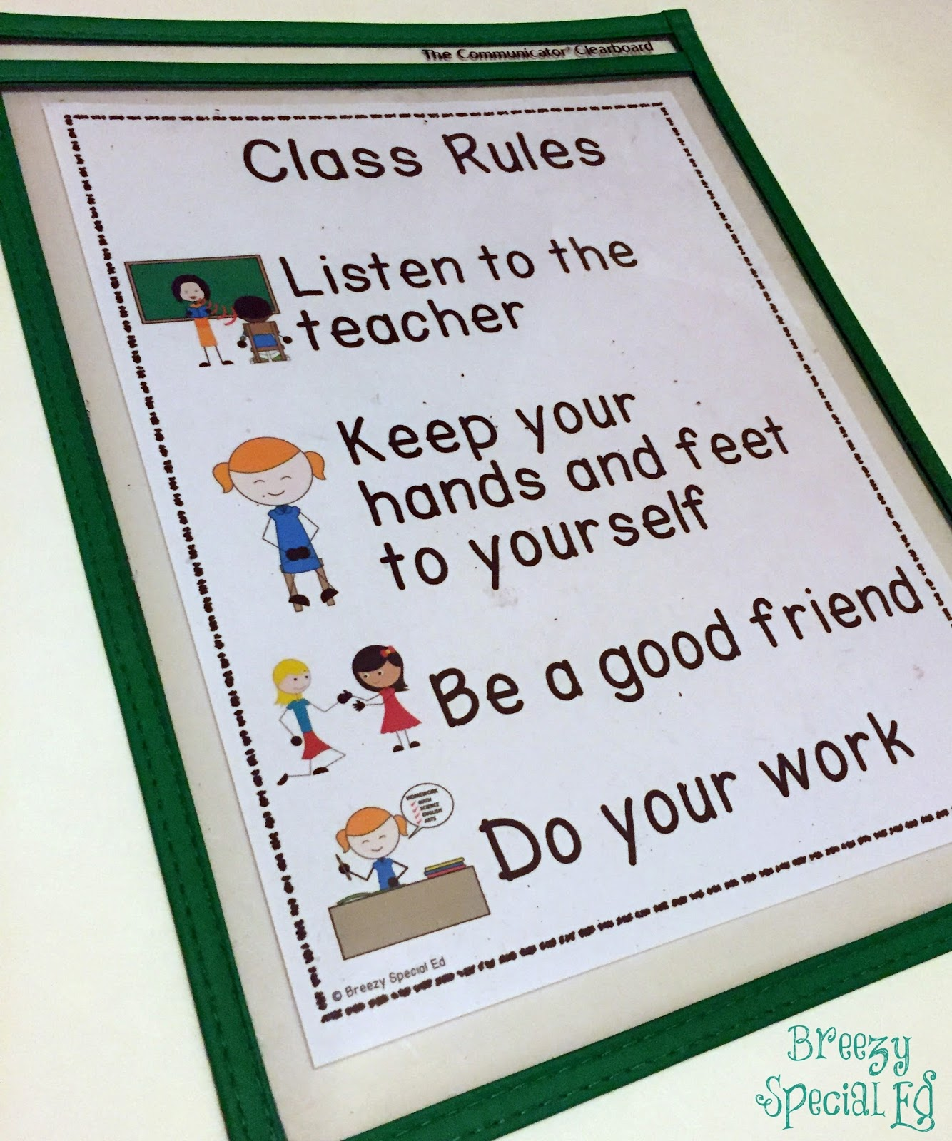 first week activities in a special education class with freebies