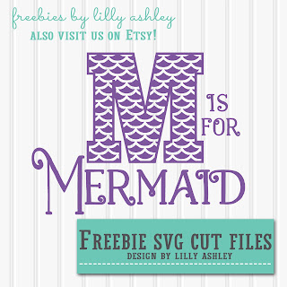 free mermaid svg cut file