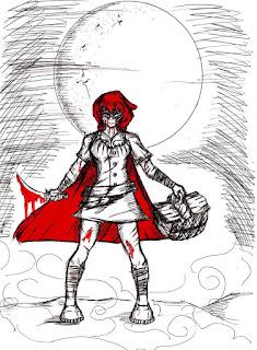 conto de halloween - sanguinária chapeuzinho - dia das bruxas