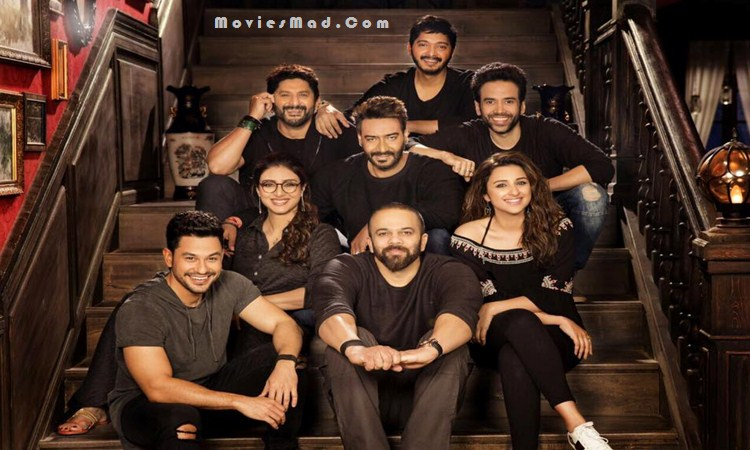 Star Cast Group of Golmaal Again