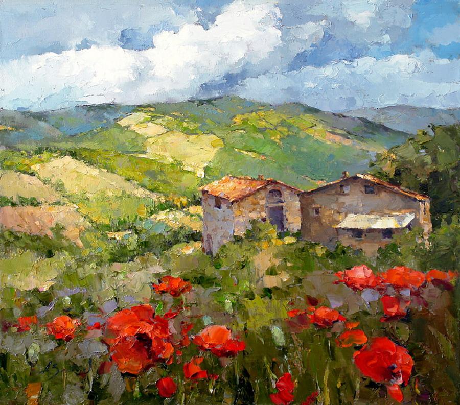 Im 225 Genes Arte Pinturas Cuadros Sencillos De Flores Rojas