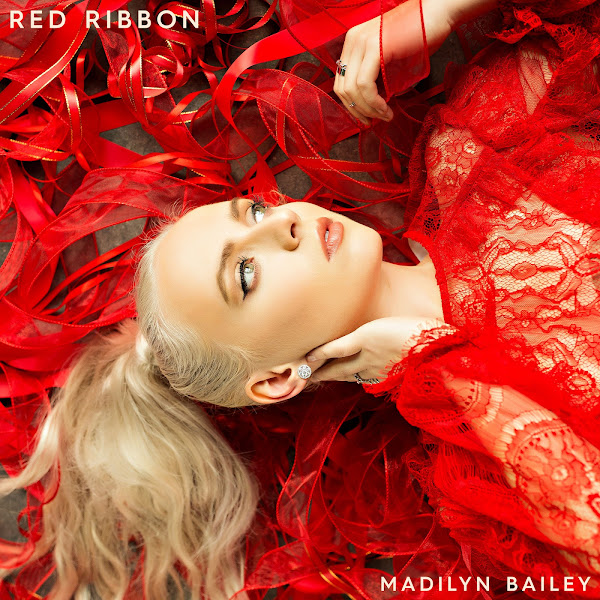 Madilyn Bailey - Red Ribbon - Single Cover