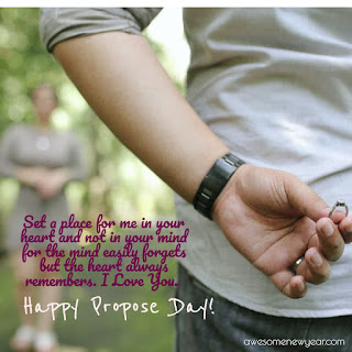 Happy Propose Day Quotes