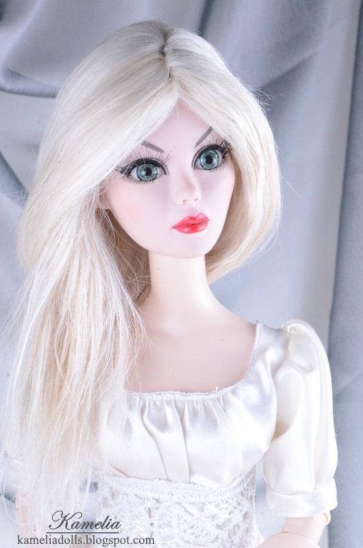 Evangeline Ghastly Black as Night in new wig.