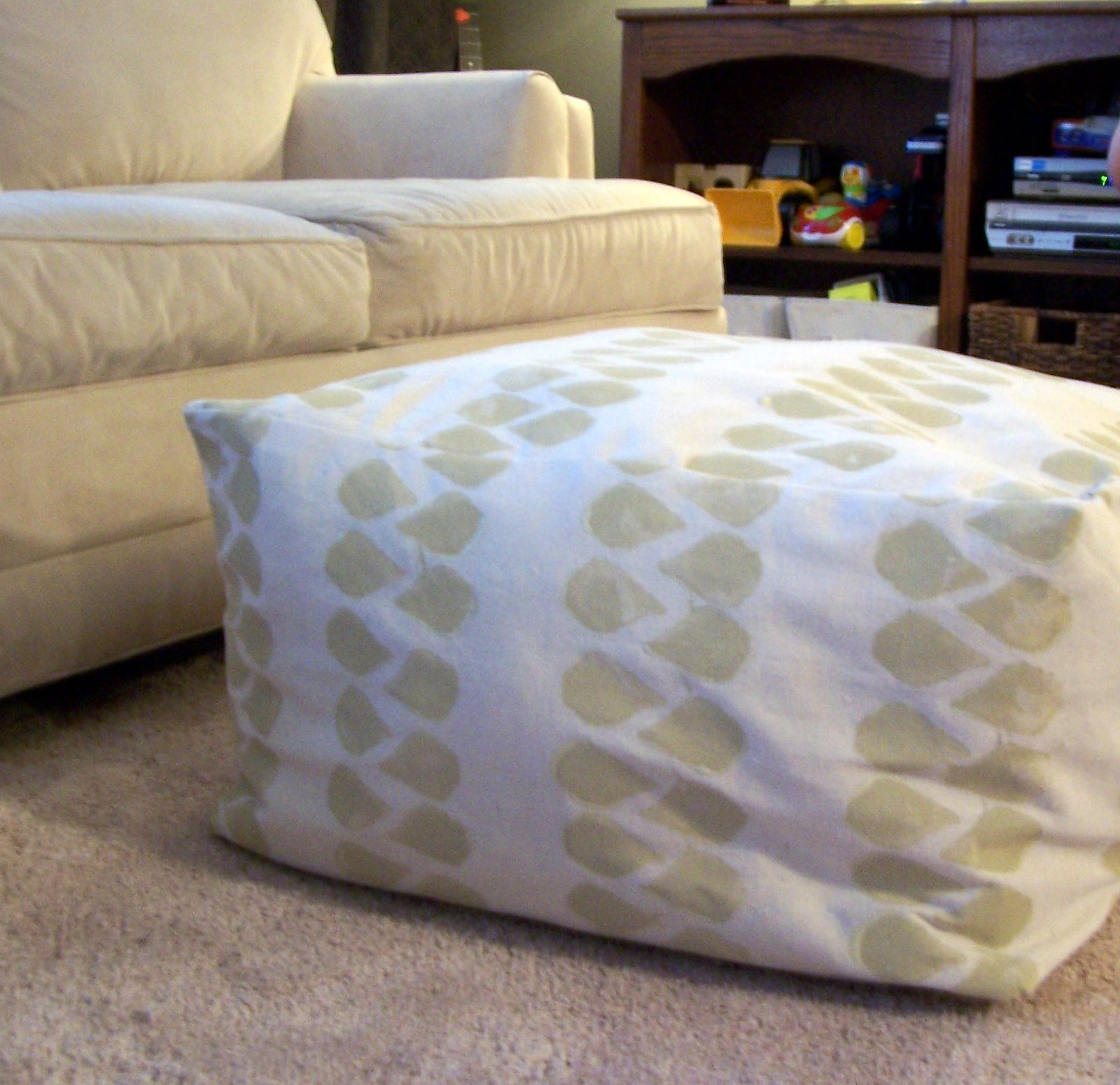 The Cre8tive Outlet Diy Square Pouf