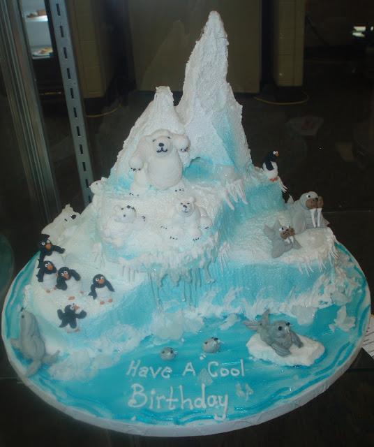 Antarctica Birthday Cakes