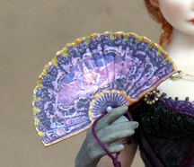 Chantelle Miniature Doll Fan Give Away Prize