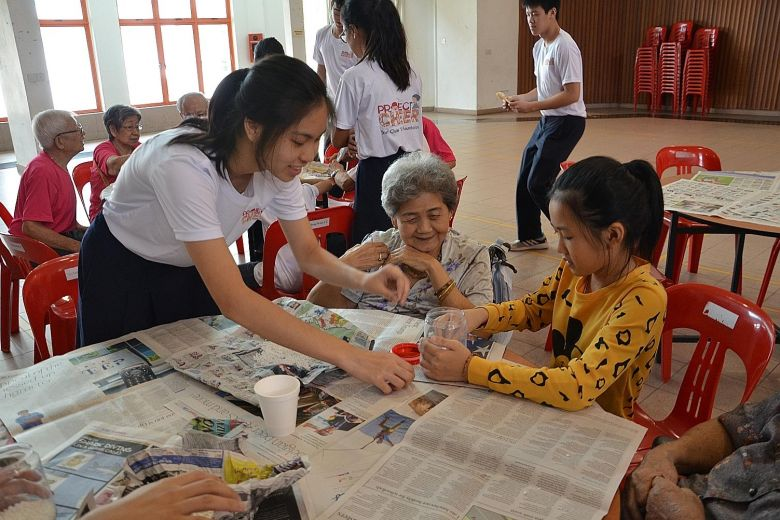 Values In Action programme: Helping the needy