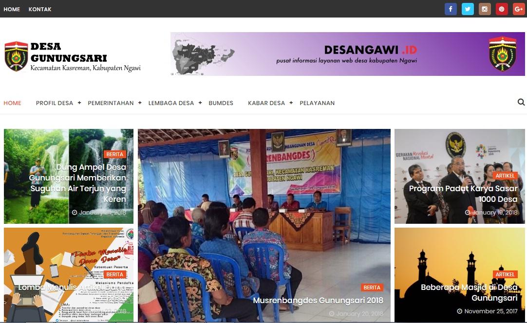 Web Desa Gunungsari
