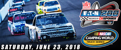 ARCA #Win & #NASCAR Camping World Truck Series Schedule
