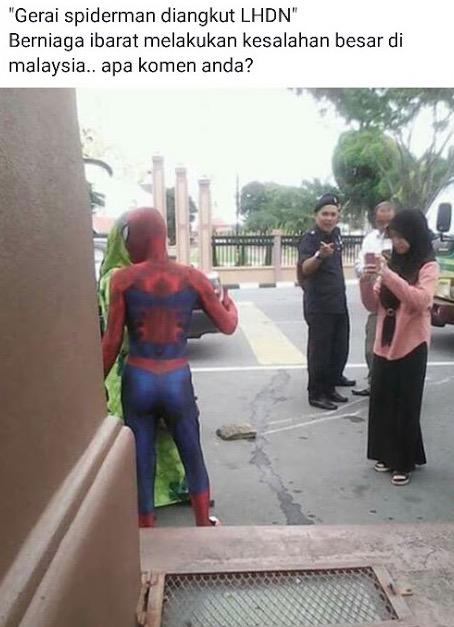 Kisah Sebenar Nasi Lemak Spiderman Kena Angkut Majlis Perbandaran Kota Bharu (MPKB)