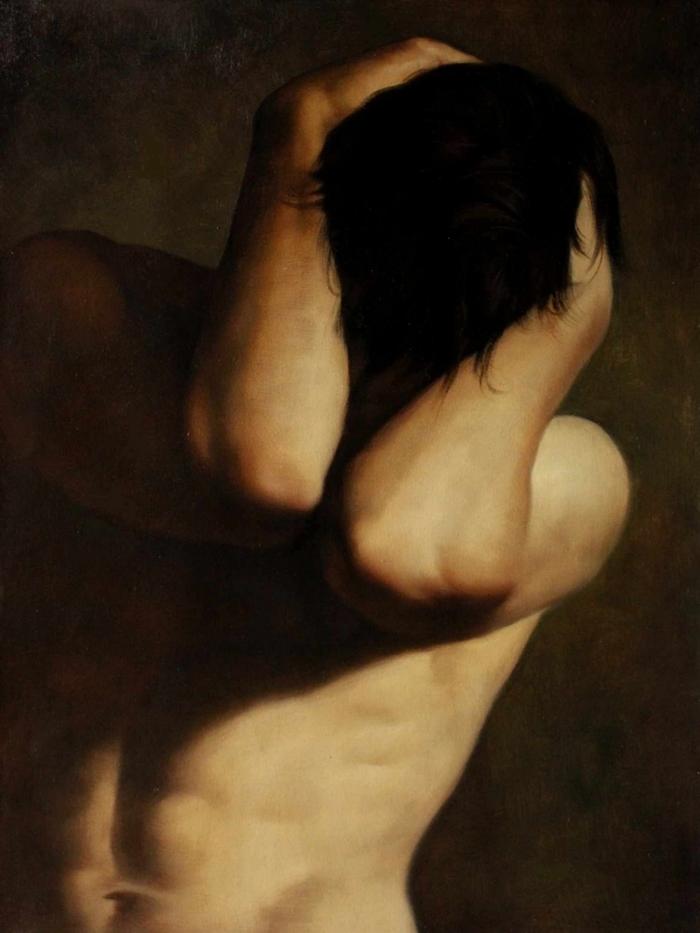 Kiéra Malone | French Figurative painter