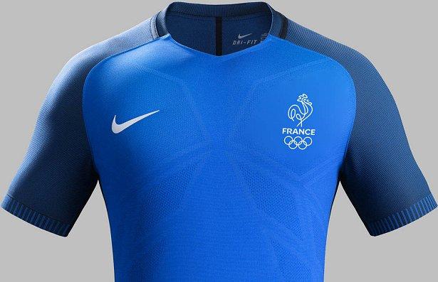 9f442649ef Nike divulga a camisa titular de futebol da França para Rio 2016 ...