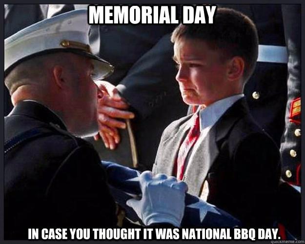 Memorial Day meme 2017