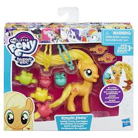 MLP Twisty Twirly Hair Applejack Brushable Pony