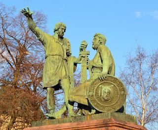 Estatua a Minin y Pozharsky - Moscu