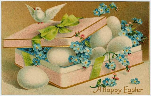 Image result for vintage easter postcards