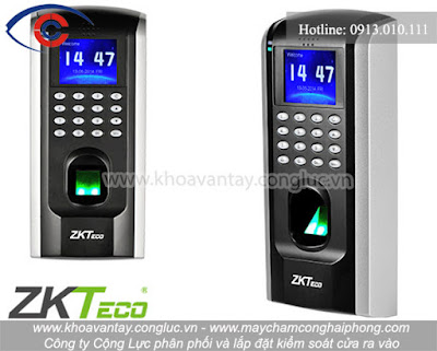 Kiểm soát cửa ZKTeco SF200/ID.