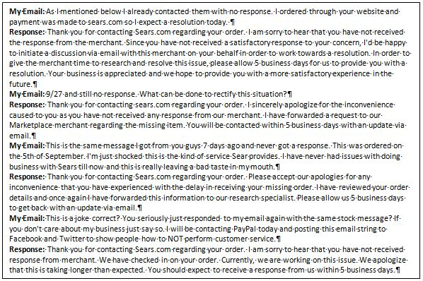 How to NOT do customer service 3
