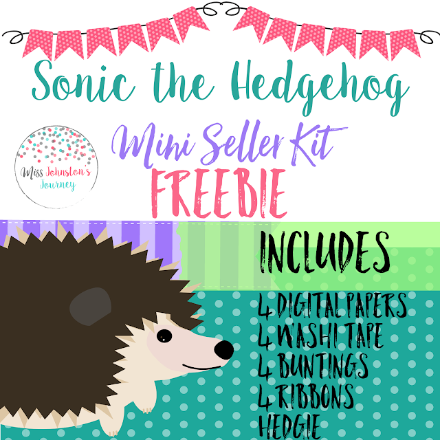 Mini Seller Kit Freebie inspired by Sonic the Hedgehog